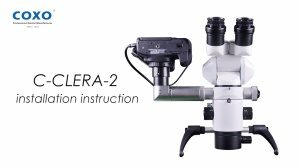 C-CLEAR-2 Microscope installation instruction